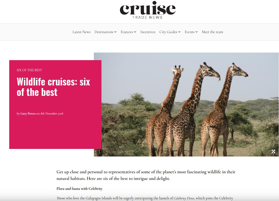 cruisetradenews.com November 2018