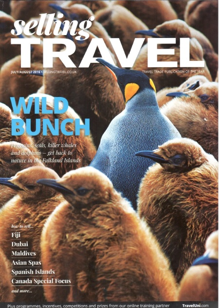 Selling Travel August 2016